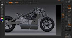 """ZBrush Modelling Session """"The Motorcycle"""" Part I in Zbrush Tutorials Zbrush Tutorial, Motorcycle Parts, Bike, 3d Software, Tutorials, Model, Comics, Vehicles, Bicycle"""