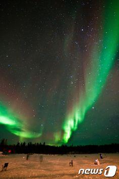 밤하늘의 황홀한 선물 `오로라`