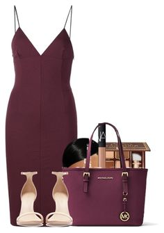 """Untitled #2626"" by alisha-caprise ❤ liked on Polyvore featuring T By Alexander Wang, Too Faced Cosmetics, NARS Cosmetics, Michael Kors and Zara"