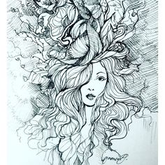 This Penandink Drawing By Jasminearezou Illustration Is An Interesting Mix Of And