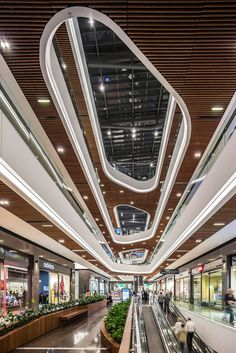 SAMSUN PIAZZA | TA_ Tabanlıoğlu Architects Shopping Mall Architecture, Shopping Mall Interior, Shopping Malls, Commercial Office Design, Commercial Complex, Concept Architecture, Architecture Details, Mall Facade, High Rise Apartments