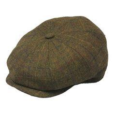 5b42aa3650e54 Henschel 8 4 4614 Newsboy Cap - Brown Hats