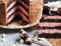 Bringebær og sjokoladekake (i liten form) - Ida Gran Jansen