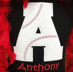 Personalized Baseball Shirt for boy or by sewglamourouscreatio, $20.00