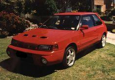 Mazda E-BG8Z Familia GTR