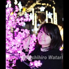【watarism2】さんのInstagramをピンしています。 《桜のイルミネーション🌸 独特のキラキラのボケ。 #モデル募集中 #モデル #ポートレート #ポートレート好きな人と繋がりたい #撮影 #渡敏宏 #広島 #写真 #カメラマン #写真家 #フォトグラファー #photographer #Canon #5Dmk3 #7Dmk2 #ファインダー越しの私の世界 #portrait #cute #kawaii #girl #Japanesegirl #イルミネーション  #桜》