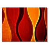 """Found it at Wayfair - """"Flame"""" by Kathie McCurdy Graphic Art on Wrapped Canvas"""