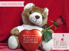 #Happy #Teddy #Day @DevillaRestro #teddybear #love #food