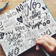 Start on Handlettering! Hand Lettering Fonts, Creative Lettering, Lettering Tutorial, Lettering Styles, Brush Lettering, Lettering Design, Font Design, Lettering Ideas, Print Fonts