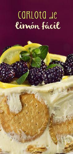 Te presentamos un postre exquisito, es la deliciosa carlota de limón con galletas marías. Es una preparación para cualquier ocasión, ¡tienes que probarla! Es una receta muy fácil, rápida y con un sabor dulcecito que te encantará.