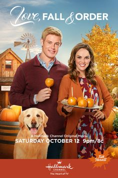 """Its a Wonderful Movie – Your Guide to Family and Christmas Movies on TV: ? Love, Fall & Order – a Hallmark Channel Original """"Fall Harvest"""" Movie starring Erin Cahill, Trevor Donovan & Gregory Harrison! Hallmark Channel Hallmark Channel SEE HERE: Hallmark Channel, Hallmark Weihnachtsfilme, Disney Channel, Family Christmas Movies, Hallmark Christmas Movies, Hallmark Movies, Family Movies, Hallmark Romantic Movies, Xmas Movies"""