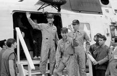 In April NASA launched three Apollo 13 astronauts to land on the moon. See Apollo epic mission of survival from start to finish in this slideshow. Moon Missions, Apollo Missions, Apollo Spacecraft, Universe Today, Iwo Jima, Kennedy Space Center, Space And Astronomy, Nasa Space, Apollo 13