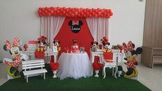 Momento Mágico Decorações : Minnie Vermelha Provençal