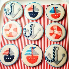 {southern bliss blog}: {Nautical Baby Shower}