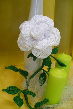 Flores de crochê.  Seleção para inspiração (2) (464x700, 211KB)