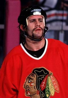 Not just for bikes anymore, Chicago Blackhawks' righ winger Jim Cummins with his whisker 'Fu Manchu' -style mustache in Jim King, Nhl Entry Draft, Phoenix Coyotes, Ice Hockey Players, New York Islanders, Tampa Bay Lightning, Colorado Avalanche, Philadelphia Flyers, New York Rangers