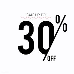 Sale up to 30 percent off promotion vector | free image by rawpixel.com