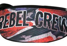 Motyw patriotyczny na saszetce 'Rebel Crew' ---> Streetwear shop: odzież uliczna, kibicowska i patriotyczna / Przepnij Pina!