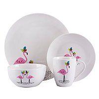 Pin By Janet On Flamingo S Flamingo Gifts Flamingo Christmas Tableware