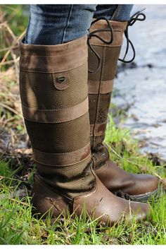 I have similar boots to these. Used for dog walking yet stylish. Very country side.