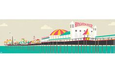 Brighton Pier by Chloe Batchelor at www.unlimitededitions.co.uk