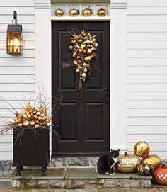 Pretty Halloween decorations!