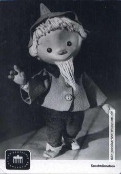 1962 mit zweiter Sandmann-Figur