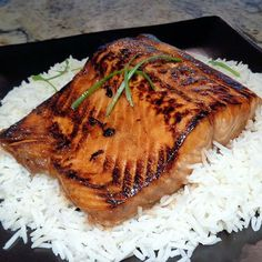 Asian-Style Glazed Salmon