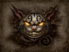 Cheshire Cat- Alice Madness Returns! ~ As scary as 'American McGee's' Cheshire Cat appears in the game, he always looks out for you & gives good advice for survival:)
