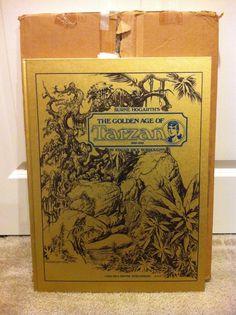 Burne Hogarths The Golden Age of Tarzan 1939-1942 book  ERB Burroughs