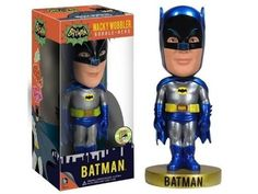 DC Comics Batman 1966 Metallic Wacky Wobbler SDCC 2013 Exclusive by FunKo *** You can find more details by visiting the image link. (This is an affiliate link) #DCComics