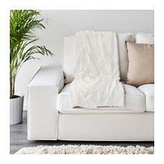 IKEA - BLÅREGN, Plaid, Die weiche, hautfreundliche Flauschdecke kann in der Maschine gewaschen werden.