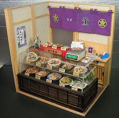 ミニチュア和の惣菜屋さん