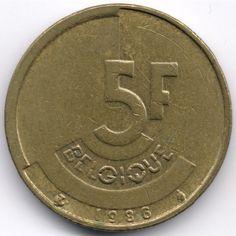 Belgium : 5 Francs 1986 French Legend Veiling in de België,Europa (niet of voor €),Munten,Munten & Banknota's Categorie op eBid België | 144921529