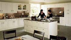 Beautiful open plan kitchen.