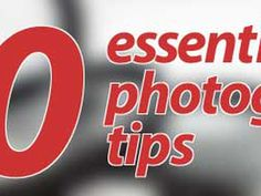 50 essential photography tips Can't afford a photography course? Not a problem. Our 50 essential photography tips will help you.