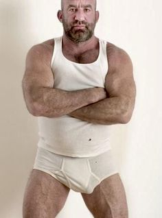Men's Undies, Underwear, Hot Men Bodies, Muscle Boy, Daddy Bear, Bear Men, Men's Briefs, Older Men, Beautiful Men