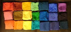 Dyeing Playsilks with Wilton Icing Dyes