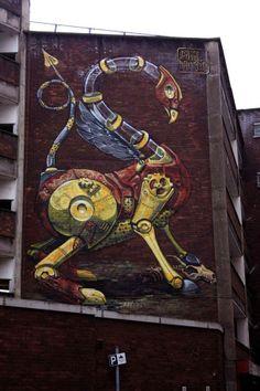 Street artiste Pixelpancho - Journal du Design