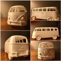 Volkswagen T1 Deluxe Samba Bus Van Classic by Uğur Saygı from Mastatik
