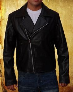 Ghost Rider Leather Jacket Nicolas Cage    Johnny Blaze is one hot dude. With a skull for a head and flames for hair, he spends his evenings riding his motorcycle looking for bad guys to teach a lesson. Inspired of the jacket worn by Nicolas Cage in th See amazing videos, news, tips, trends & analysis along with fashion items in mens cufflinks and lots more. See more @Gail Regan Truax://successfollow.com