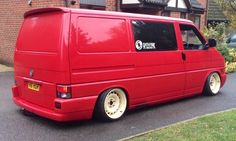 VW T4 - slammed on hydros