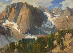 FRANZ BISCHOFF - High Sierra Landscape