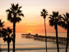 SALE San Clemente Pier - Signed 8 x 10 Fine Art Photograph Print, California by IlluminatedLuna on Etsy