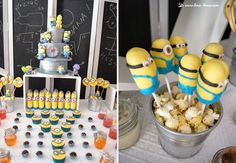 Details for this despicable me minions party