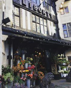 """Prettiest shop in London @libertylondon #libertylondon, #christmasshopping, #pretty, #flowers"" - Thanks to mr_columbus via instagram"