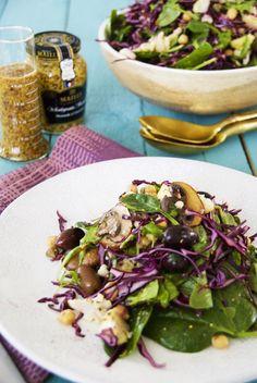 Ruokaisa talvisalaatti © Hanna Stolt | Gurmee.net Net, Tacos, Mexican, Ethnic Recipes, Food, Eten, Meals, Diet