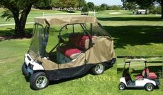 """Golf Cart Driving Enclosure for 4 seater with 2 seater roof up to 58"""" Formosa Covers,http://www.amazon.com/dp/B004UIGLJ2/ref=cm_sw_r_pi_dp_zi66sb0P234B0816"""