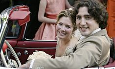 Justin Trudeau and Sophie Grégoire: The love story of Canada's new first couple. Justin and Sophie look overjoyed as they leave their wedding in his father's 1959 Mercedes convertible on May 28, 2005. Justin told Sophie on their first date that she was the woman he would marry. Photo: Ryan Remiorz/CP
