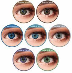 tolle augenfarben kontaktlinsen ideen oder natürliche augenfarbe blau grau grün gelb alle farben